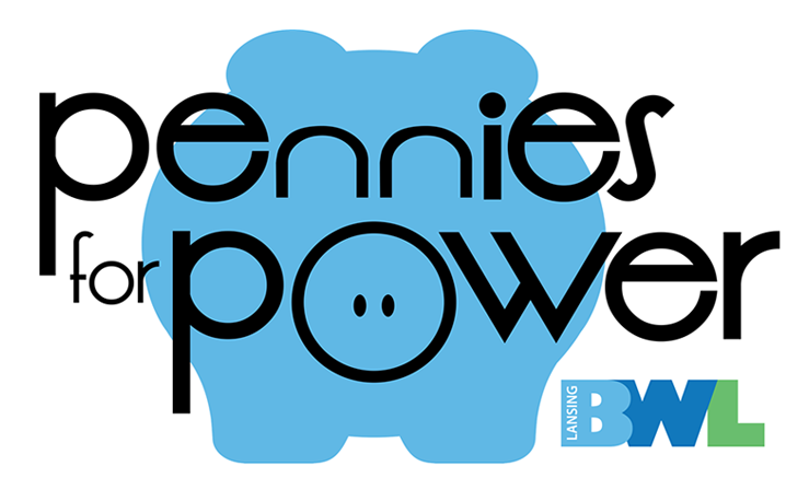 Pennies for Power Logo